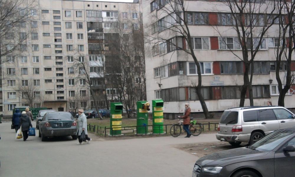 контейнеры на улице