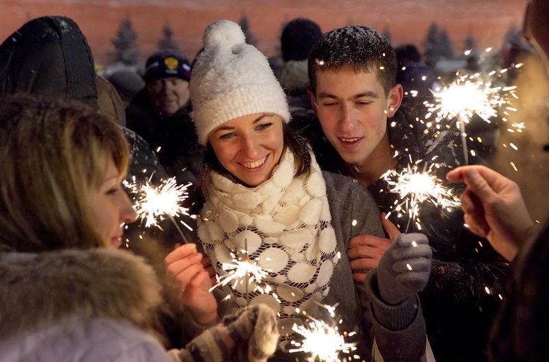 Как отметили прошлый новый год