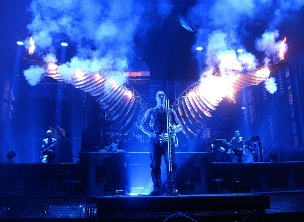 фотографии с концерта рамштайн