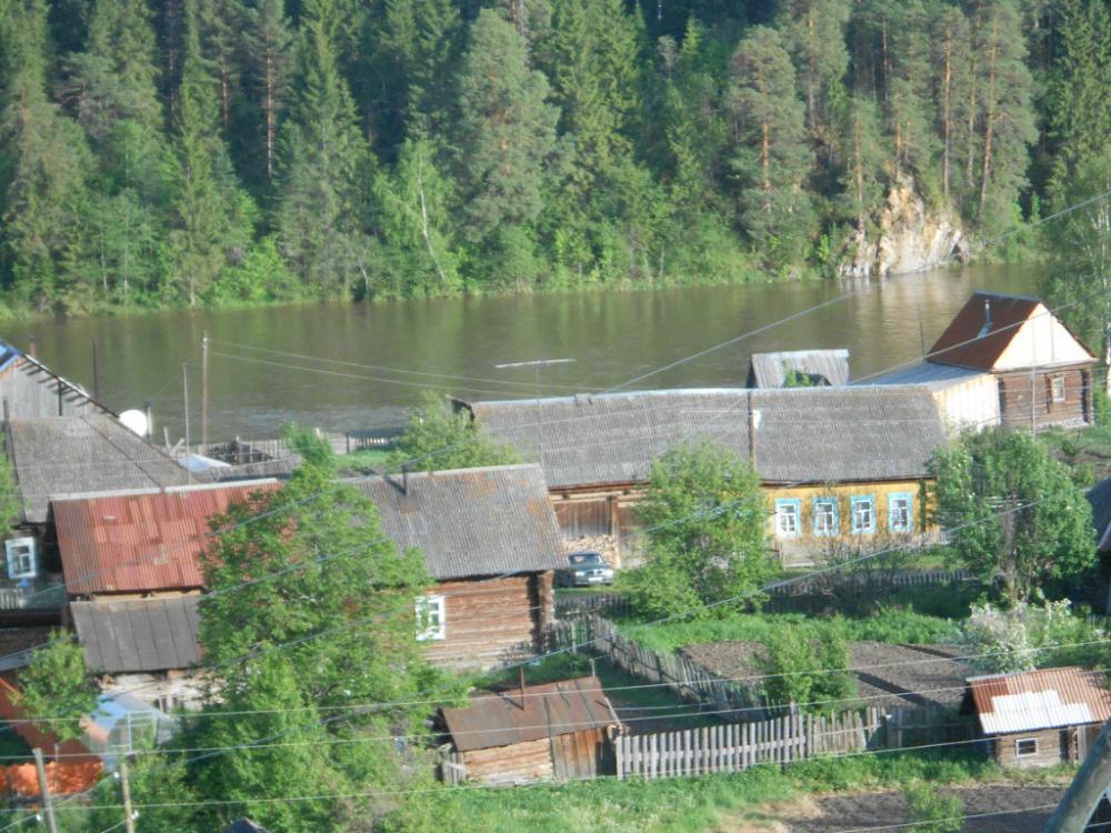 Российская глубинка с настоящей баней