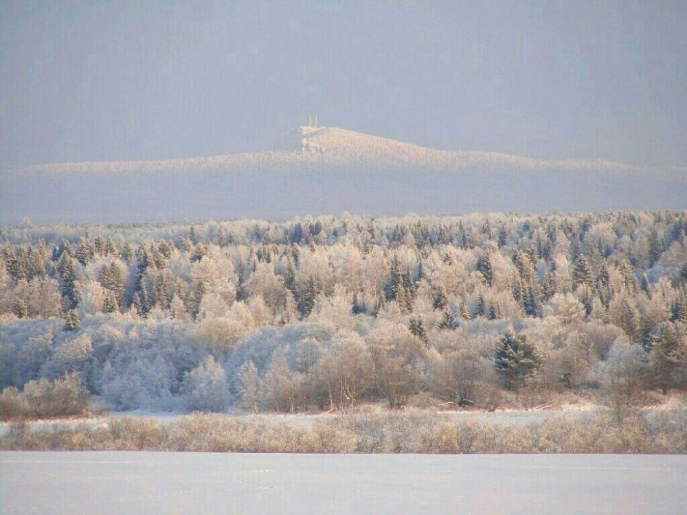 Полюд зимой