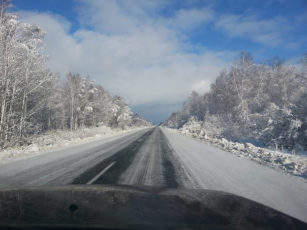 дорога на Тюмень