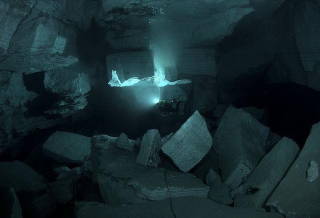 подводный грот