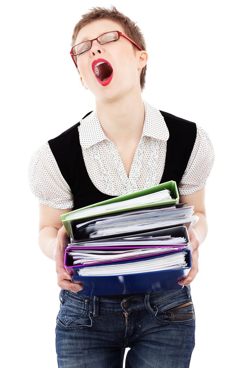 множество действий одновременно гарантируют стресс