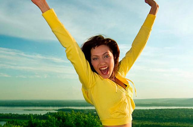 простое движение может переключить вас на позитивную волну
