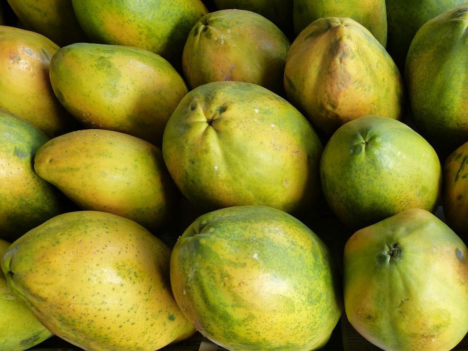 в папайе много антиоксидантов