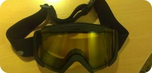 Моя новая сноубордическая маска
