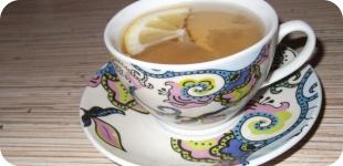 Имбирный чай согреет в холода