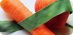 Витаминный салат для сладкоежек