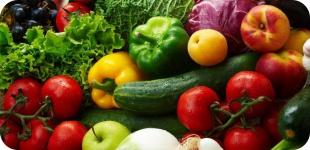 Витамины для нашего здоровья. Продукты с большим содержанием витаминов.