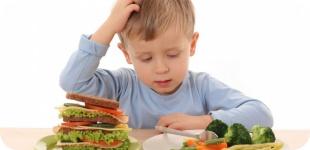 Как приучить ребенка к здоровой еде?