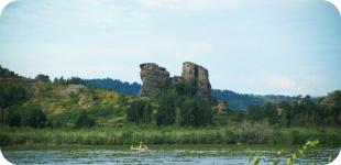 Колывань – три разных озера в одном месте