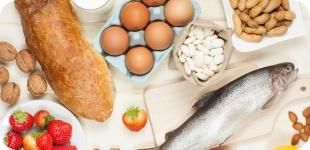 Самые сильные пищевые аллергены