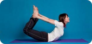Асаны йоги для пресса и плоского живота