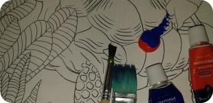 Рисуем - снимая стресс, взрослые раскраски - чем они могут помочь?