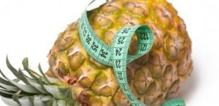 Ананасовая диета для похудения: все плюсы и минусы
