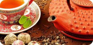 Чай, как источник энергии для организма.
