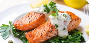 Рыбная диета - питание для гурманов